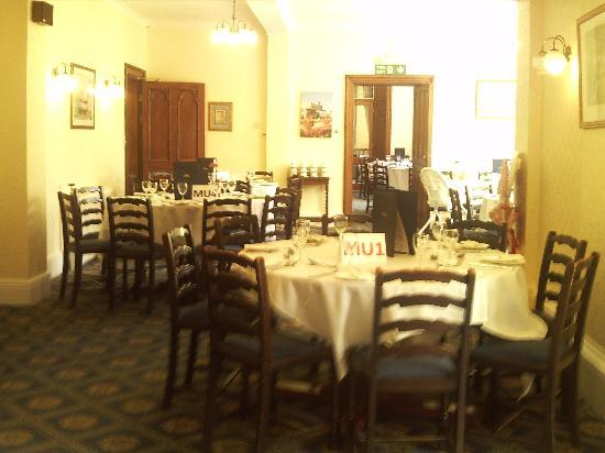 Sidholme Hotel: The dinning room