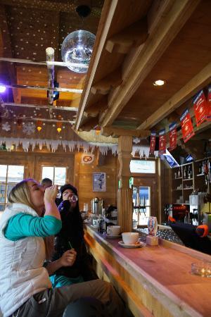 Jogglkessl Aprés Ski: innenansicht