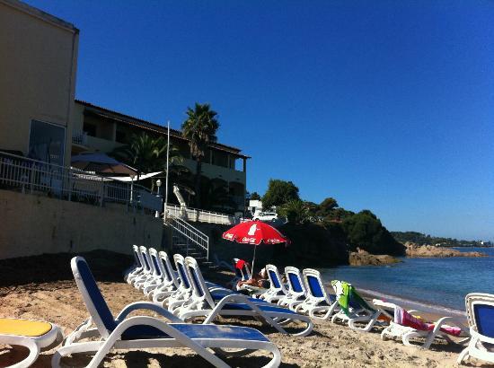 U paradisu: Vue depuis la plage
