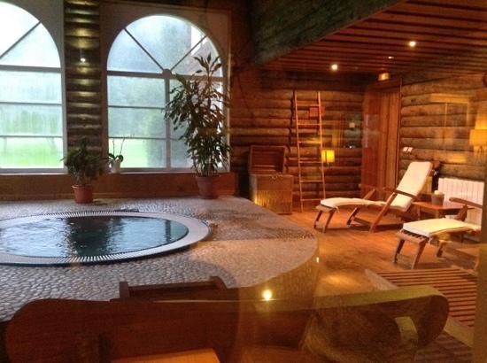 Le Labrador Hotel: le jaccuzi, le sauna et le hamam sont inclus dans le prix
