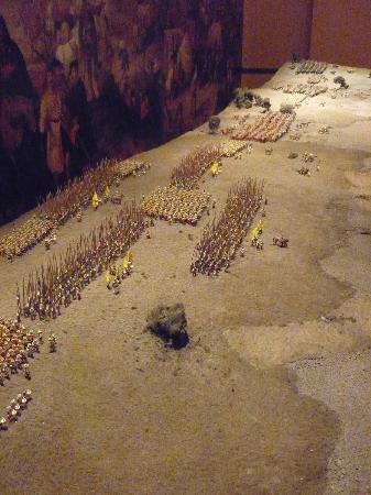 Army Museum: Battle Diarama