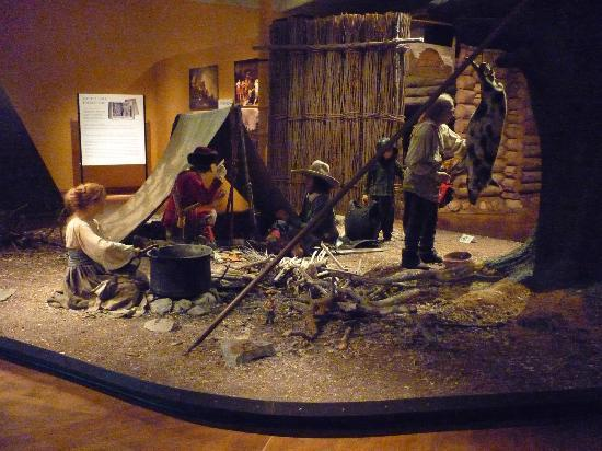 Army Museum: Army camp
