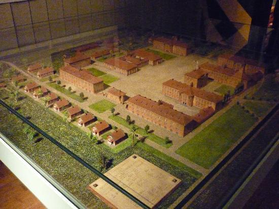 Army Museum: Model of barracks