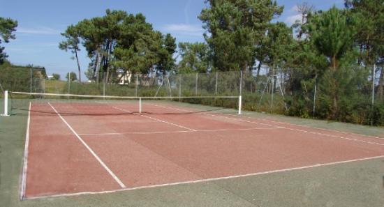 Golfhôtel de Saint-Samson : Court de tennis