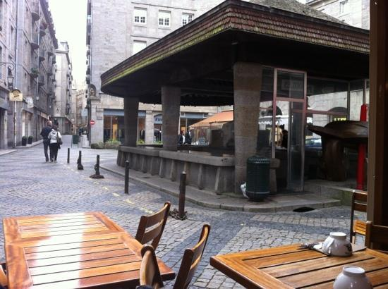 Crêperie La Touline : terrasse