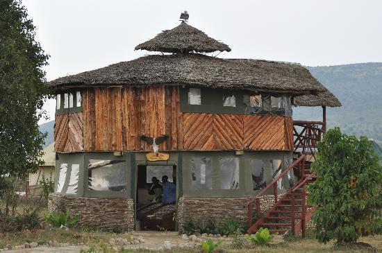 Elangata Olerai Luxury Tented Camp: la recepción