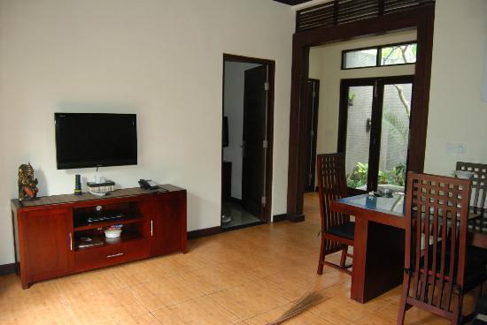 Rumah Santai Villas: view from lounge