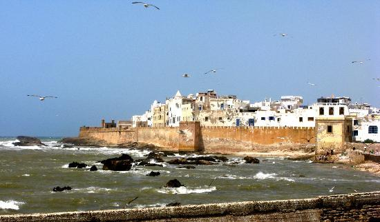 Essaouira Ramparts: Sea defences from the ramparts