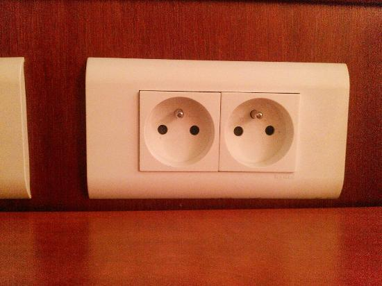 Best Western Marseille Airport: wall socket