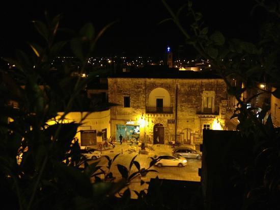 B&B Corte Regina Esther: Panorama dal terrazzo