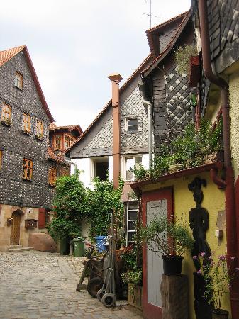 Fuerth, Alemanha: Old town Fürth