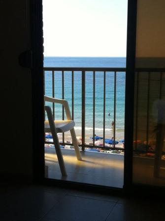 Hotel Bilbaino : vista desde la cama