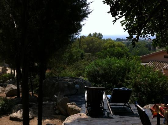 terrazza panoramica del B&B Arasole - Picture of B&B Arasole, Sinnai ...
