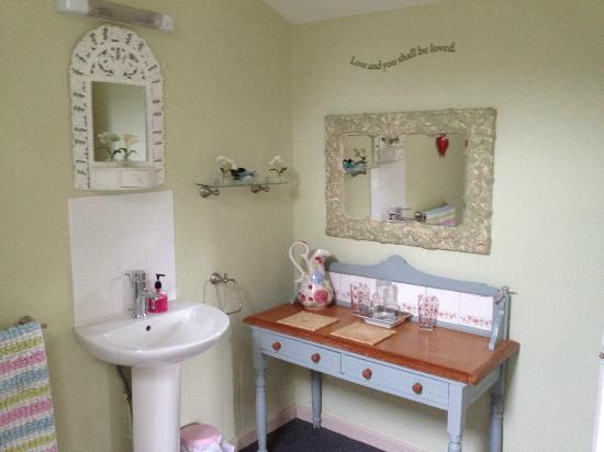 Blackbrook Lodge Caravan & Camp Site: Washroom in The Love Shack
