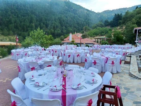 Ilaeira Mountain Resort: Organize your wedding at Ilaeira's warming surroundings... A day to remember!