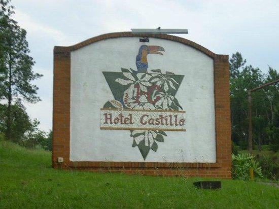 Hotel Castillo: letrero del hotel