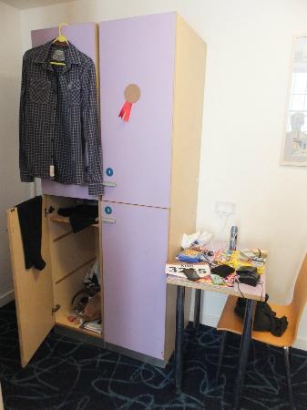Safestay Edinburgh : Lockers
