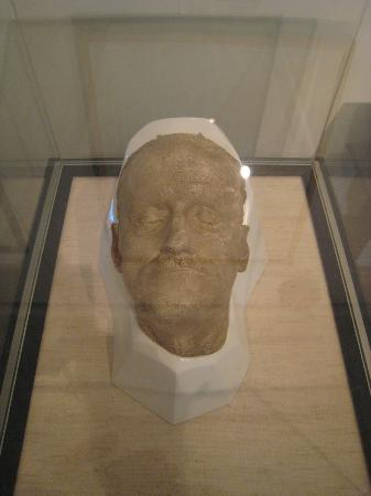 James Joyce Tower & Museum: One of two official death masks