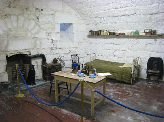 James Joyce Tower & Museum: Simple living quarters