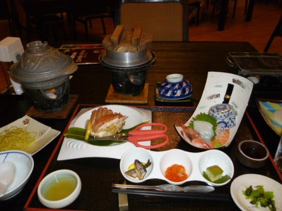 Abashiri Kanko Hotel: 夕食