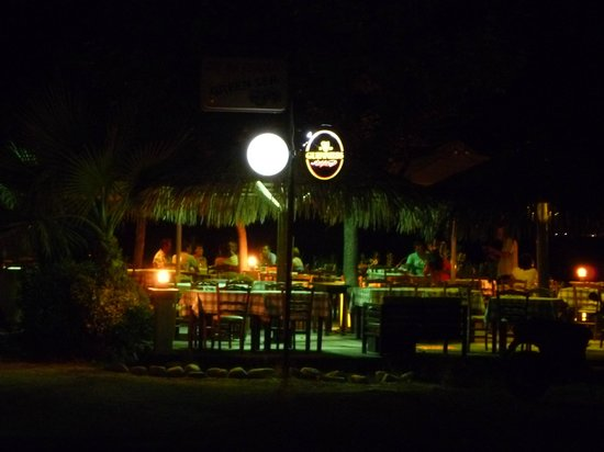 Green Sea Restaurant : The Green Sea in the evening