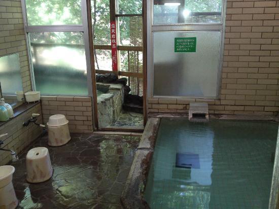 One Day Mizuki: 旅館の方の風呂(露天風呂)