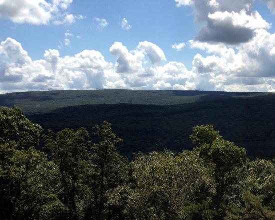 Pocono Environmental Education Center: great view from the overlook