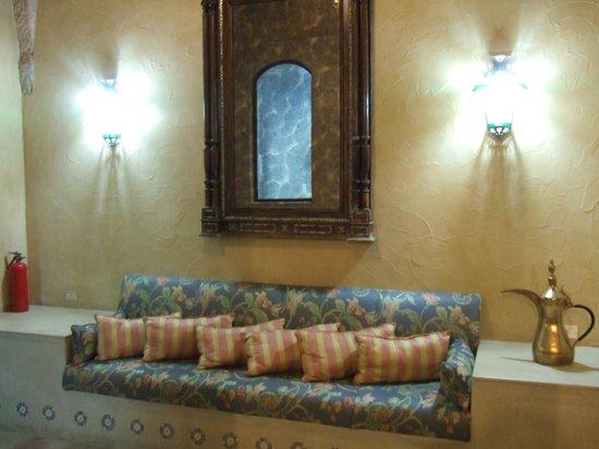 Mir Amin Palace Hotel: Innenhof