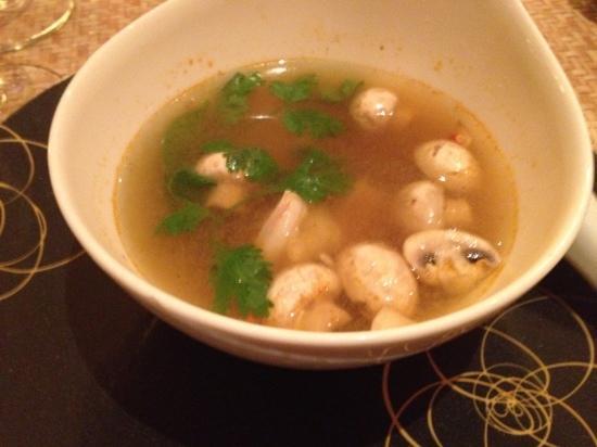 Kao Kao : tom yum soup