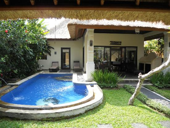 Furama Villas & Spa Ubud: View of pool to the room