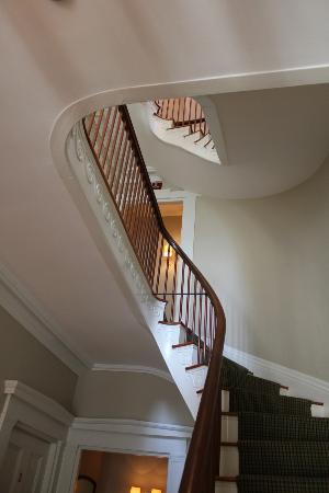 The Roberts House: Staircase