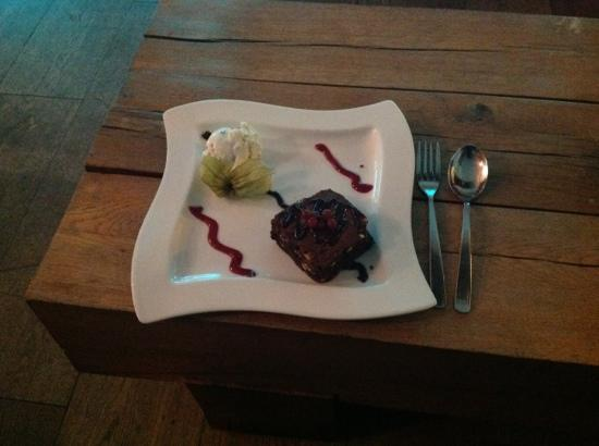 The Glassblowing House : delicious dessert