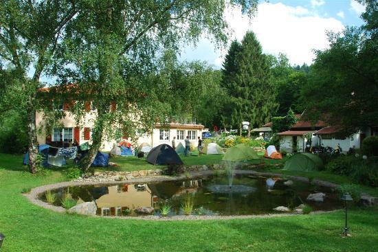 Camping am Möslepark: Zeltteich