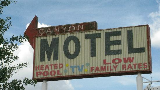 Canyon Motel & RV Park: Canyon Motel