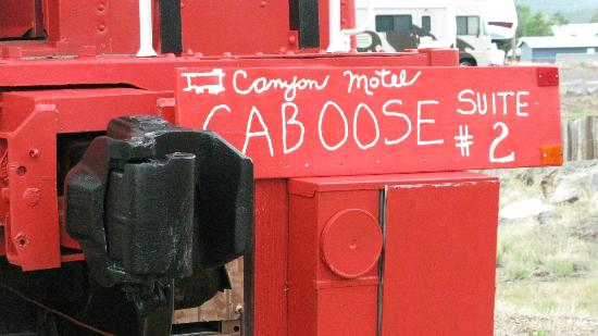 Canyon Motel & RV Park: Caboose
