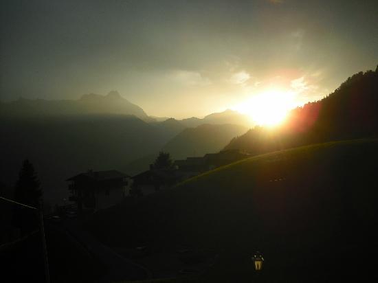Sauris, Italy: Tramonto da Riglarhaus