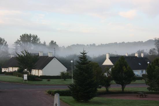 La Maison du Bocage: morning fog again