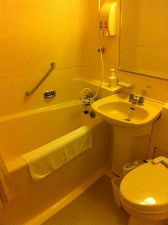 Ginza Grand Hotel: Bathroom