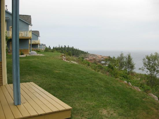 Condo-Hotel Natakam and Cottages: view from deck
