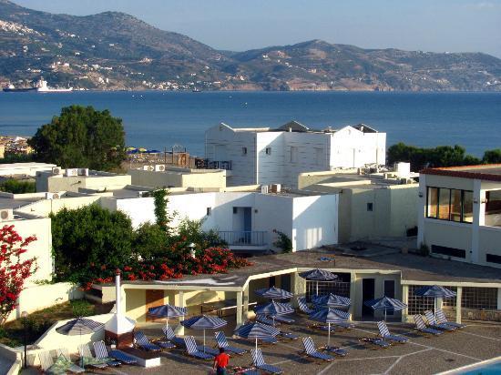 Amoudara, กรีซ: Вид на море и горы