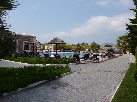 Naxos Resort Beach Hotel: lugar muy relajante