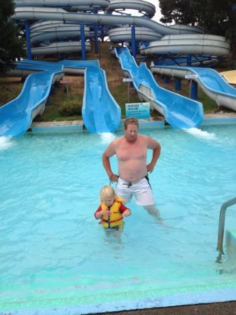 Splashdown Park: big slides