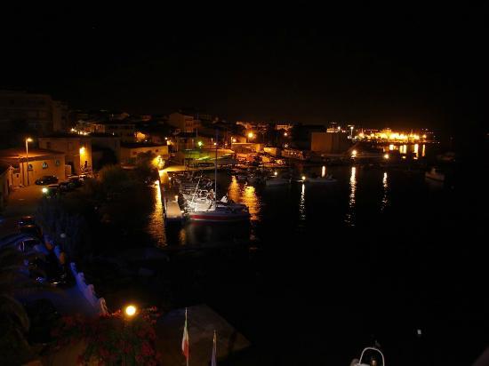 Il Gabbiano: panorama dalla camera notturno
