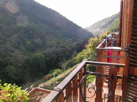 Hotel Lago Bin : Vue sur la montagne