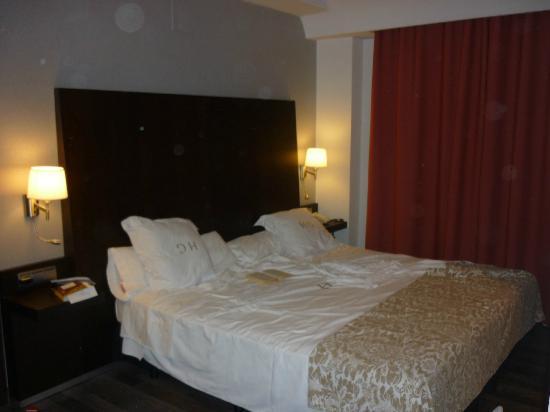 Guadalupe Hotel: letto