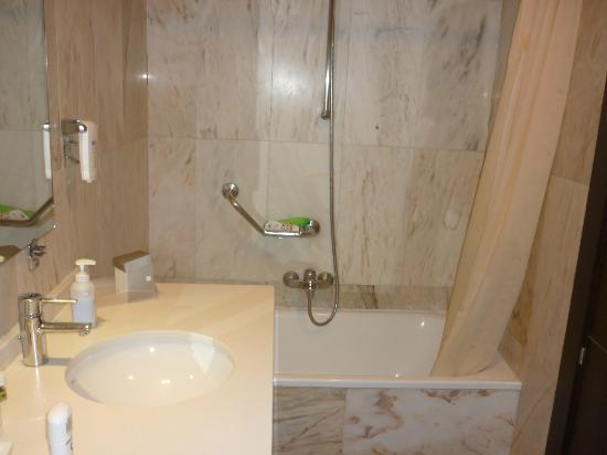 Guadalupe Hotel: bagno