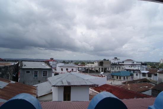 Warere Town House: Vistas desde la terraza del tejado