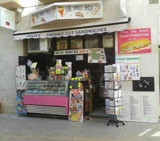 Julie's Sweets and Sandwiches: Julie's Sweet Shop Cala Bona