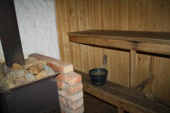 Ferienhaus Orjaku Moisakoha : sauna
