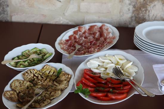 La Palazzetta del Vescovo: Lunch !